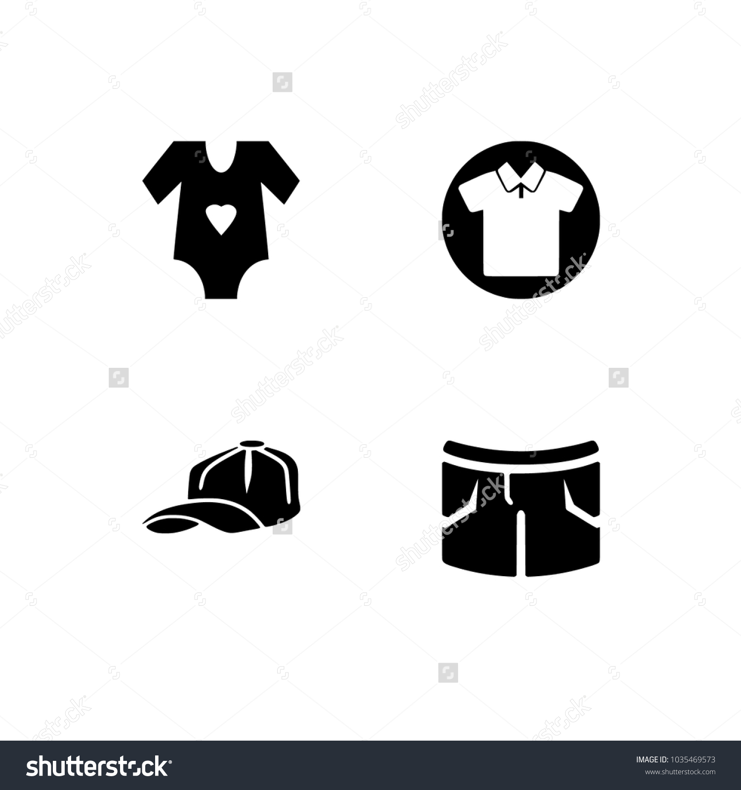 Clothes clothing icon set optimized size stock vector 1035469573 optimized size for all resolution transparent background biocorpaavc Gallery