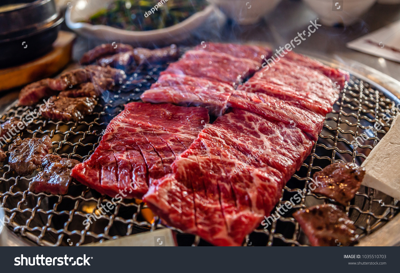 Sizzling Korean BBQ #1035510703
