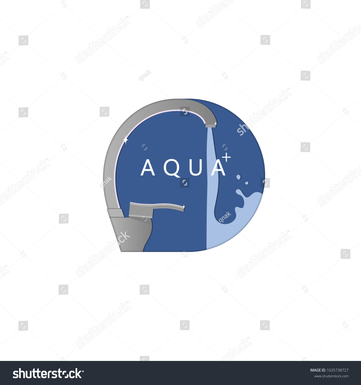 Water Faucet Icon Sign Symbol Logo Stock Vector 1035738727 ...