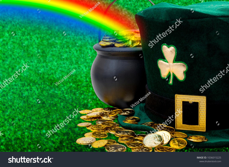 March Meme Happy St Patricks Day Stock Photo Edit Now 1036015225