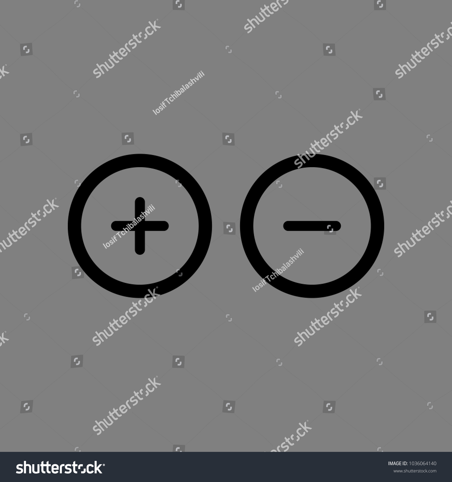 Awesome Battery Symbol Positive Negative Festooning - Electrical ...