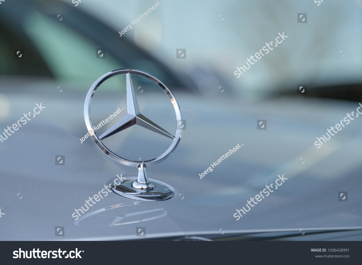 Fuerth Germany February 25 2018 Mercedes Benz Stock Photo Royalty