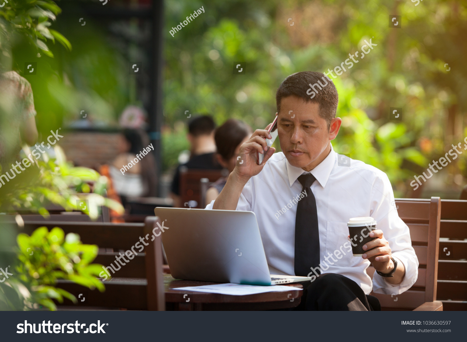 Men 5060 Years Old Read Good Stock Photo Edit Now 1036630597