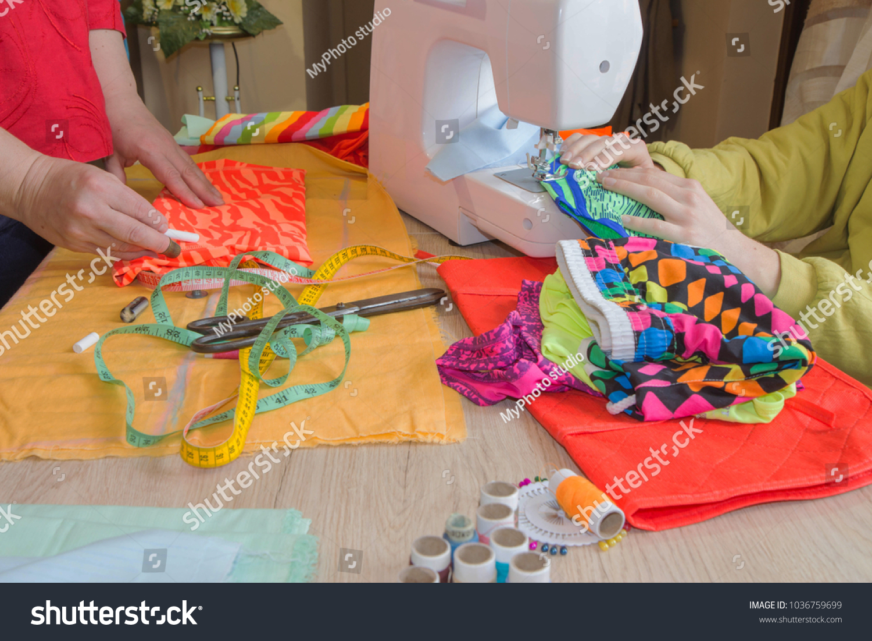 Fashion Designer Woman Tailor Posing Her Stock Photo Edit Now 1036759699