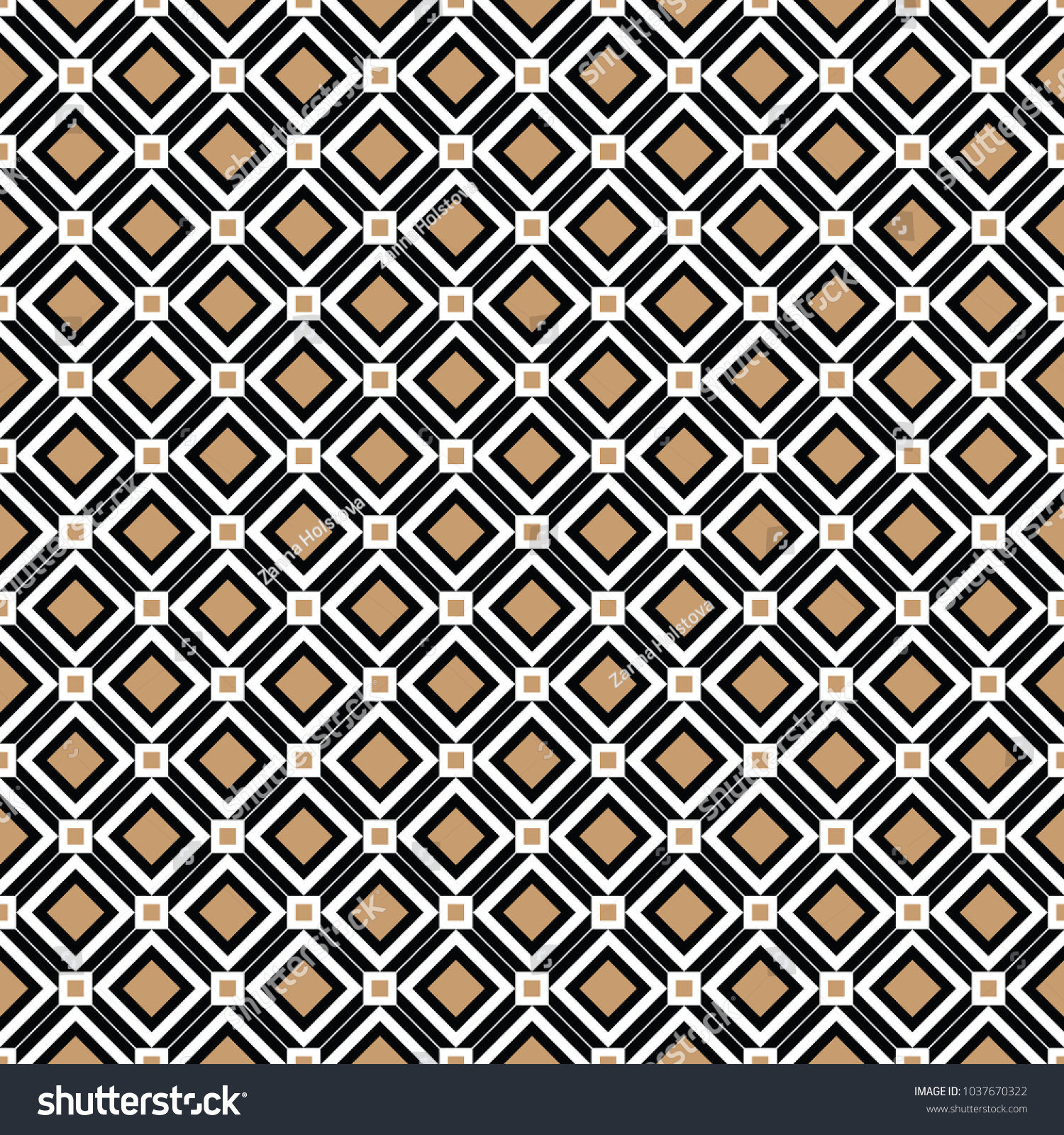 Cross Lines Gold Vector Pattern Background Stock Vector (Royalty ...