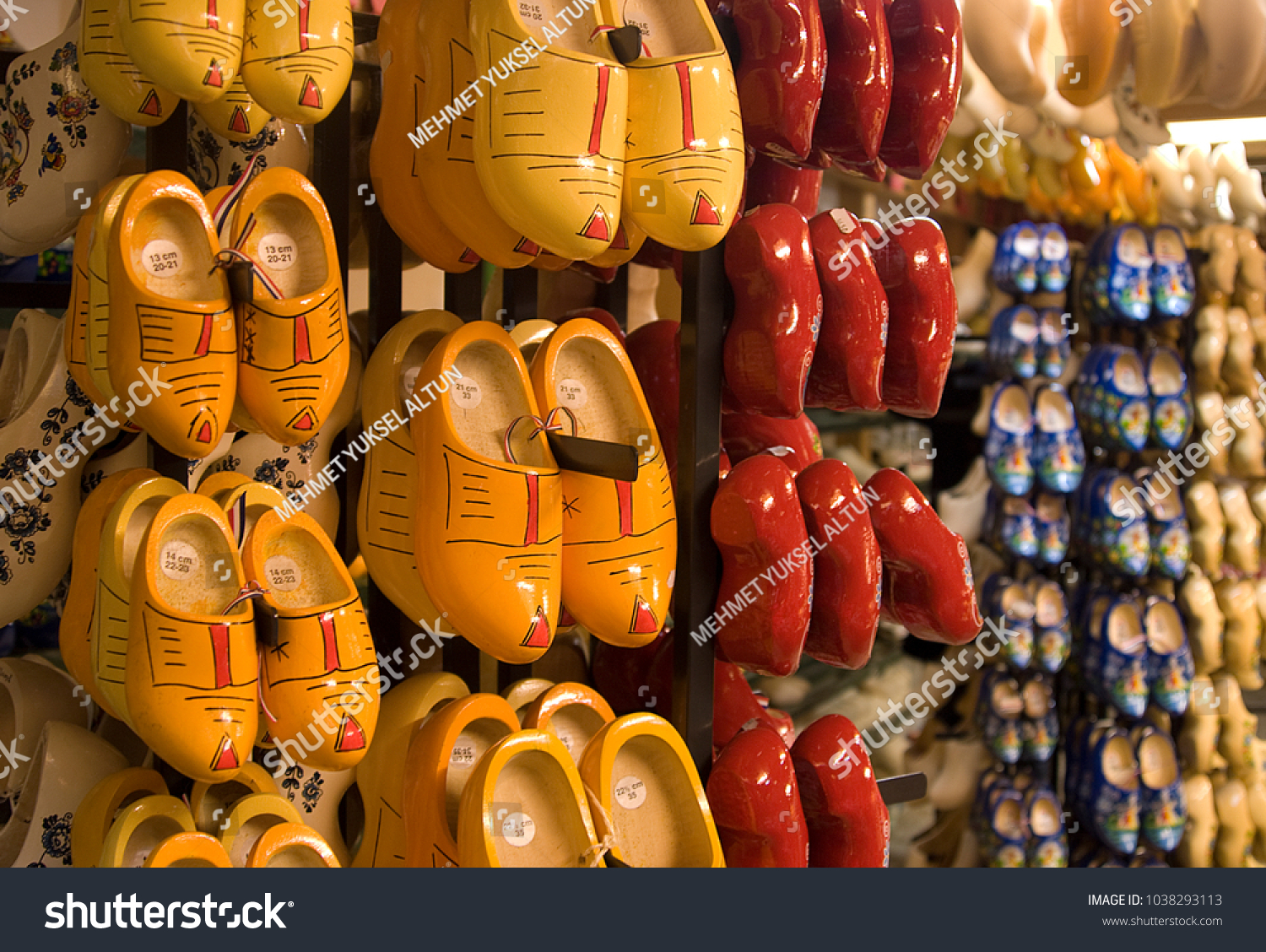 Wooden Shoes Amsterdam Stock Photo Edit Now 1038293113 Shutterstock