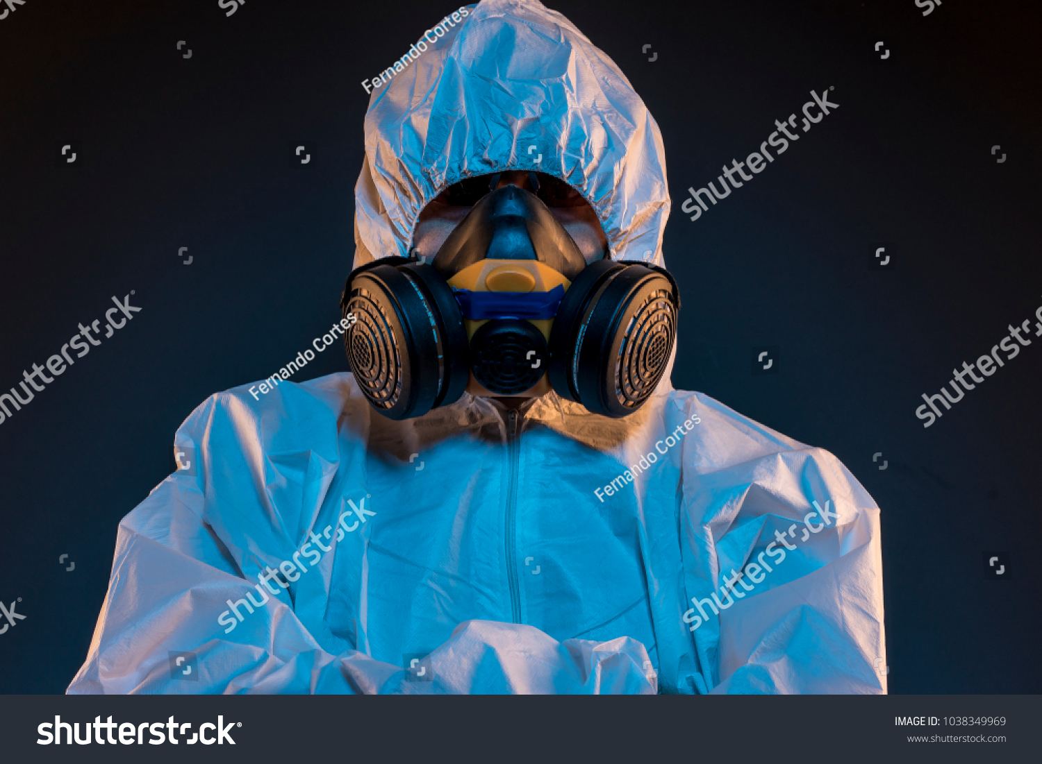 gas masks virus