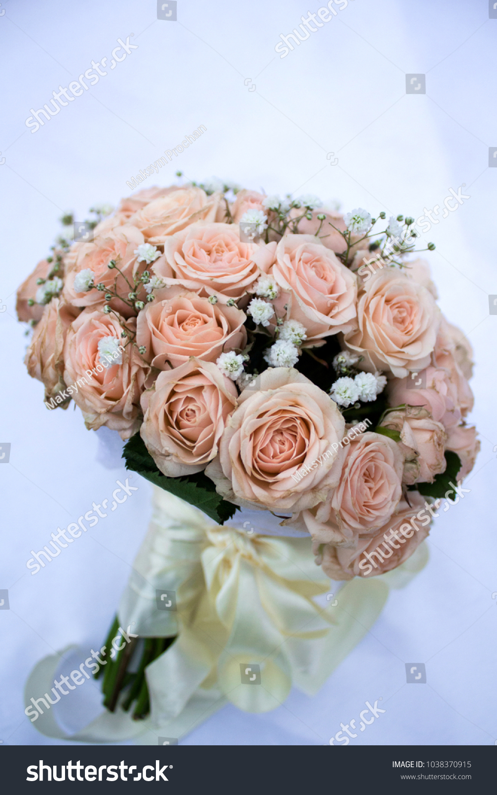Flower Bouquet Love Day Valentine Marriage Stock Photo (100% Legal ...