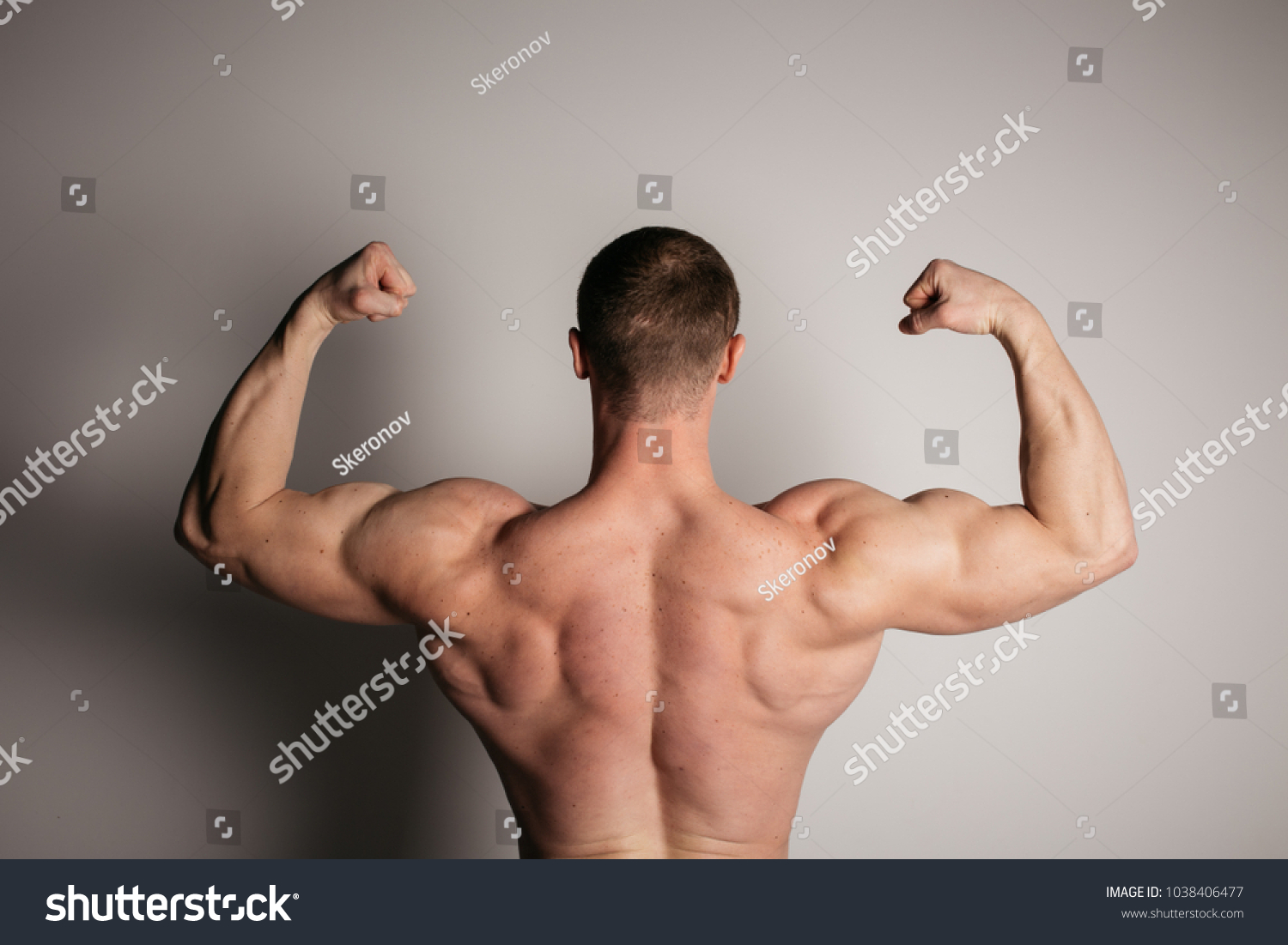Part Body Back Broad Voluminous Inflated Stock Photo (Safe to Use ...