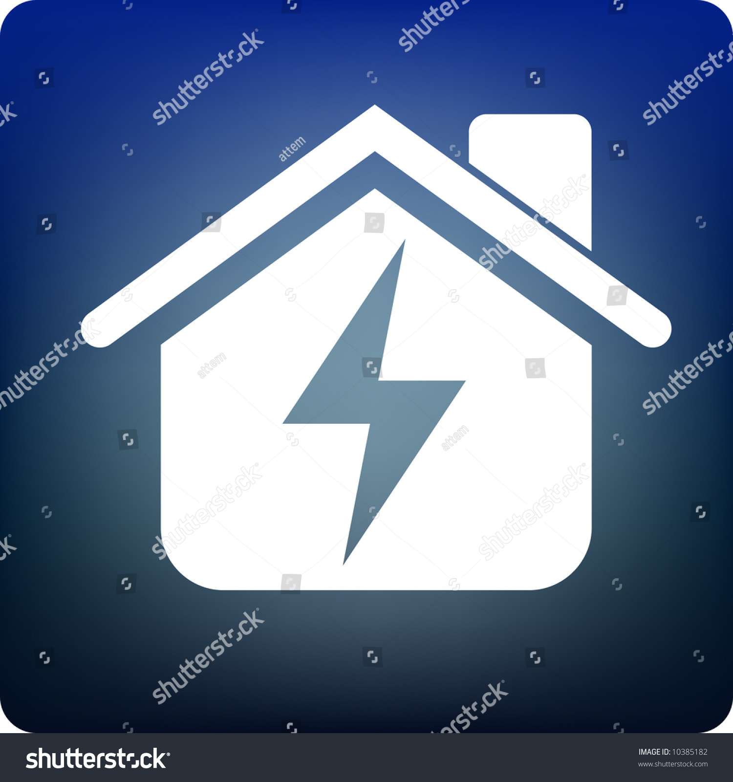 Home Electricity Stock Vector 10385182 - Shutterstock