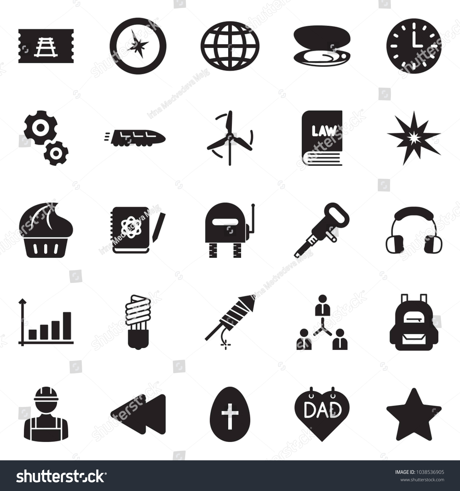 Solid black vector icon set bulb stock vector 1038536905 shutterstock solid black vector icon set bulb vector growth chart team law nvjuhfo Choice Image