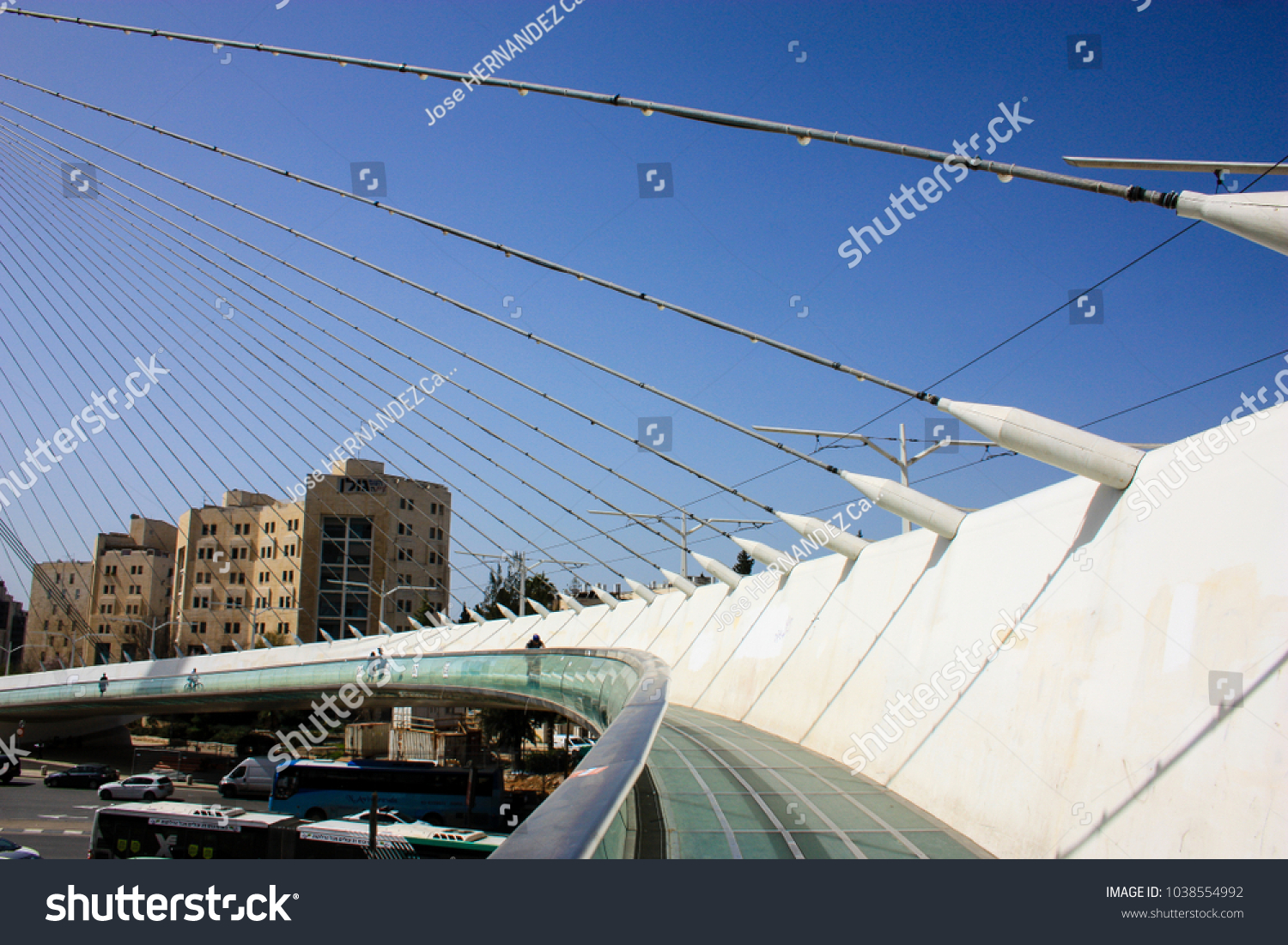 Jerusalem Israel March 42018 View Chords Stock Photo (Edit Now ...
