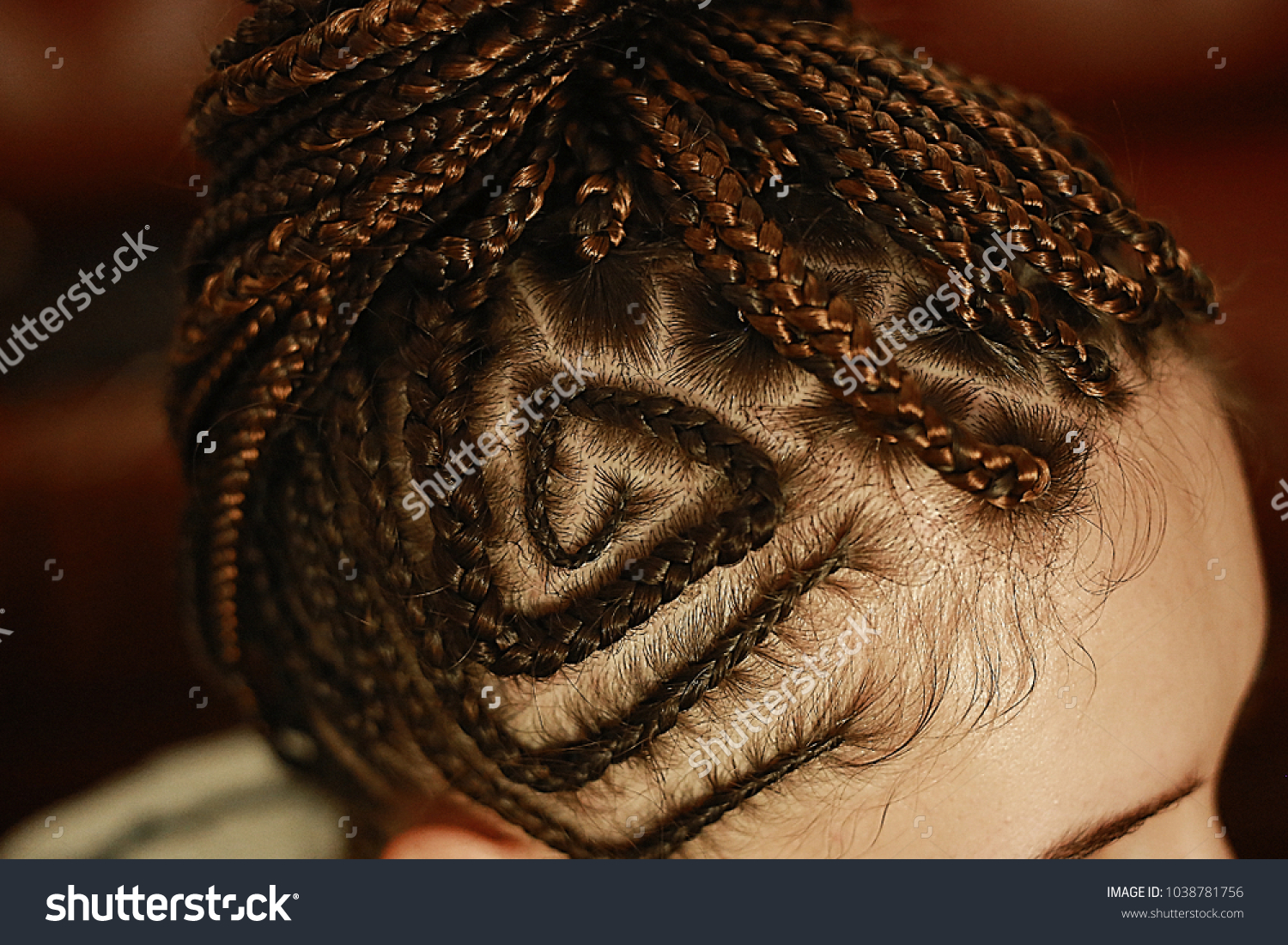 Weaving On Beach Ethnic Hairstyles Drawings Stock Photo Edit Now