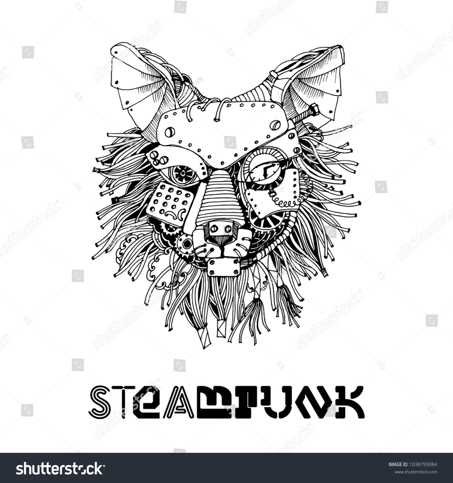 Animal Steampunk sketches exclusive photo