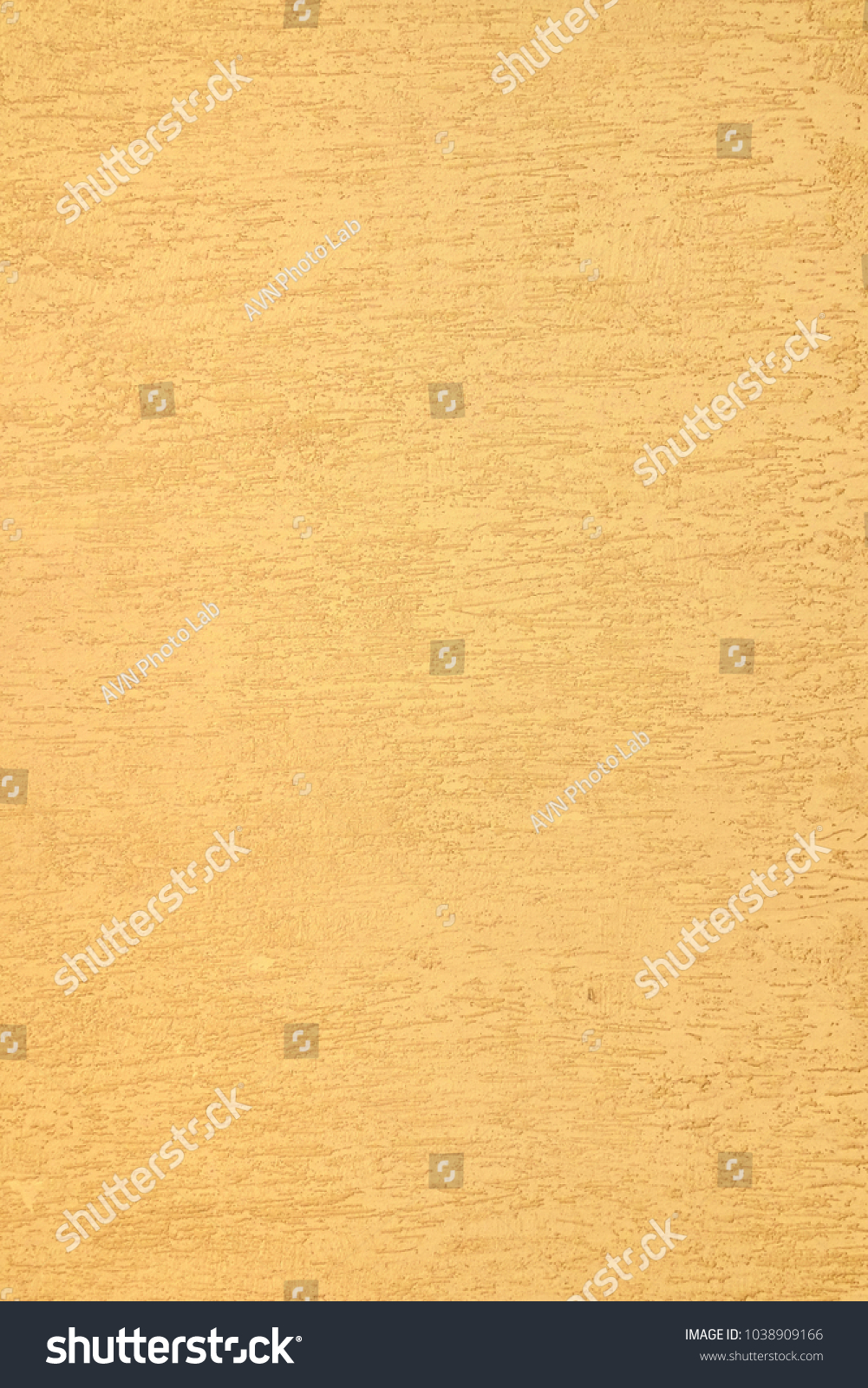 Textured Yellow Plaster Wall Vertical Background Stock Photo ...