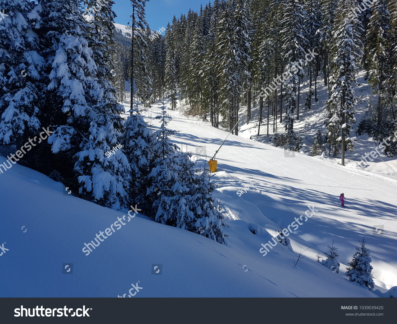 bansko ski resort stock photo (edit now) 1039039420 - shutterstock
