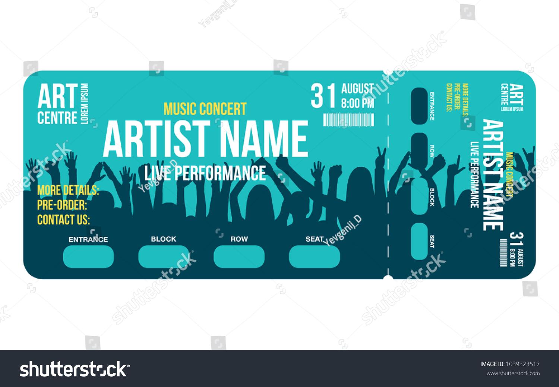 Nett Design Ticket Vorlage Bilder - Beispiel Business Lebenslauf ...