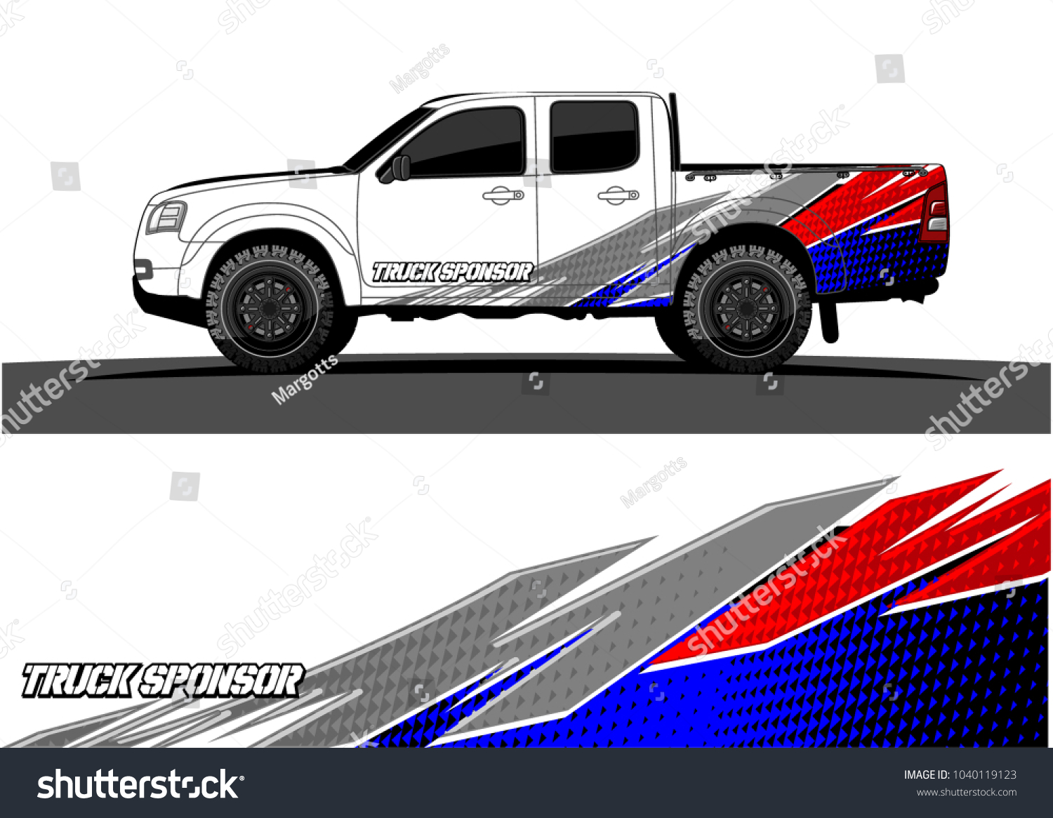 Truck and vehicle graphic vector racing background for vinyl wrap and decal