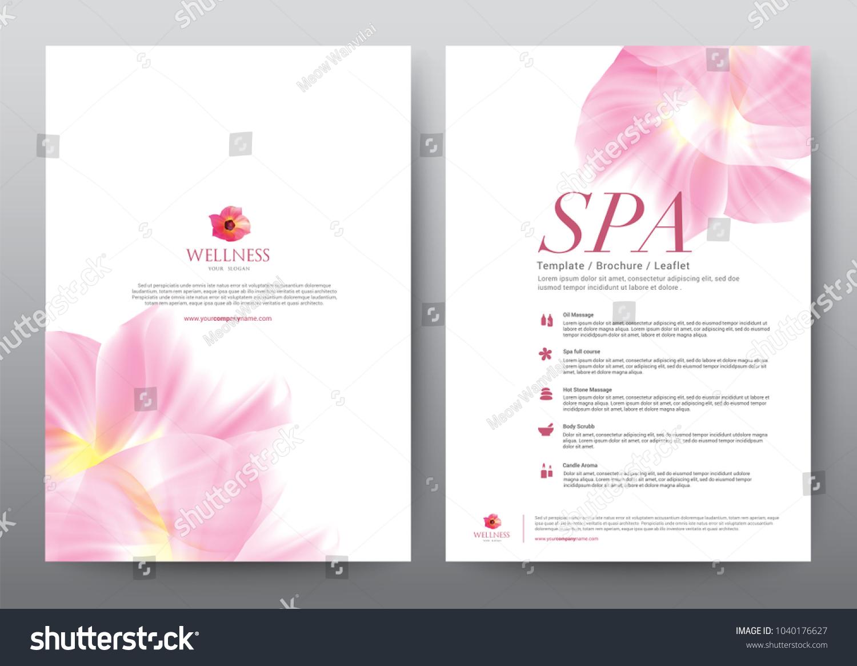 layout template elements presentation background design stock vector