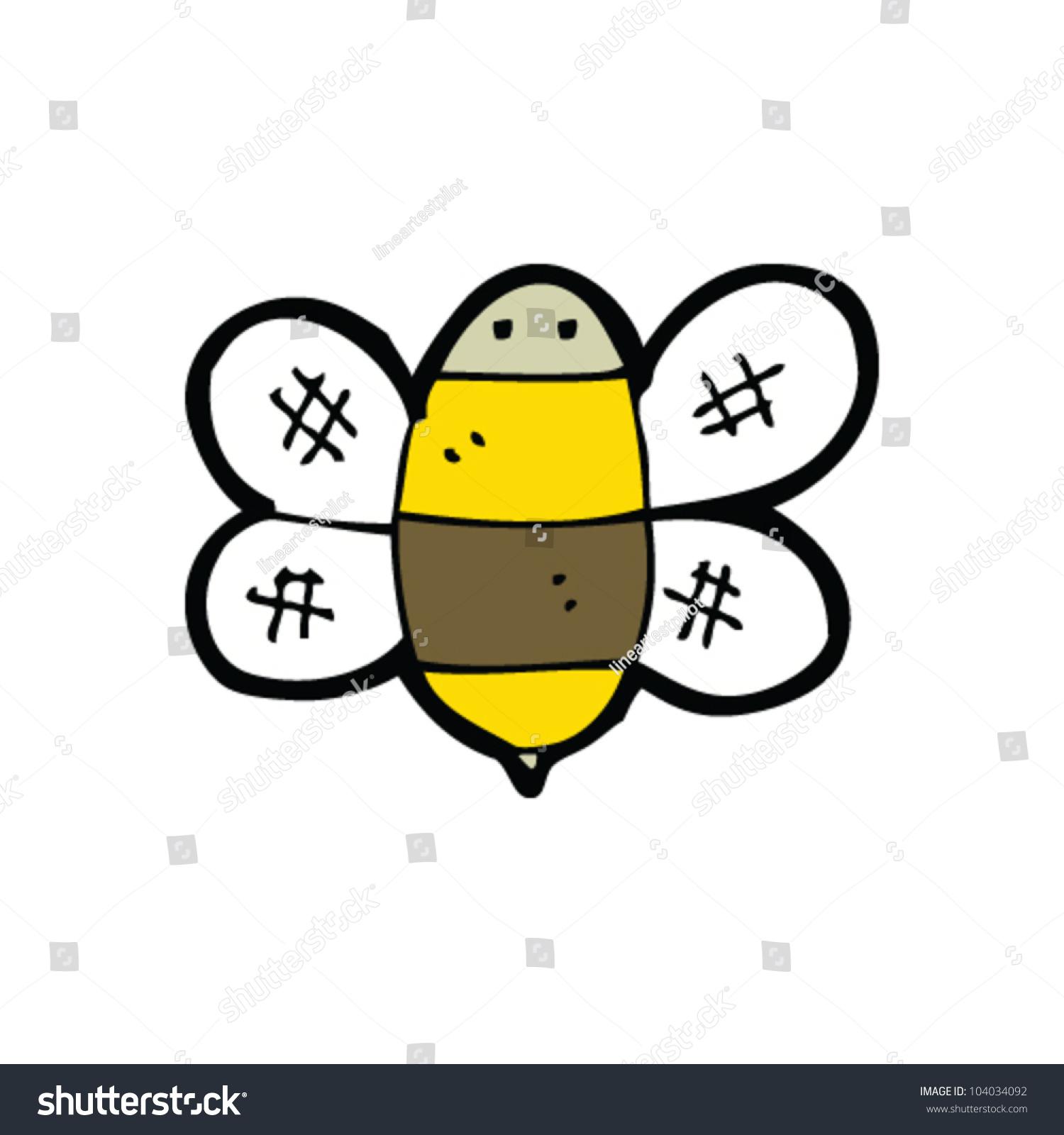 Cartoon bumble bee stock vector 104034092 shutterstock cartoon bumble bee biocorpaavc