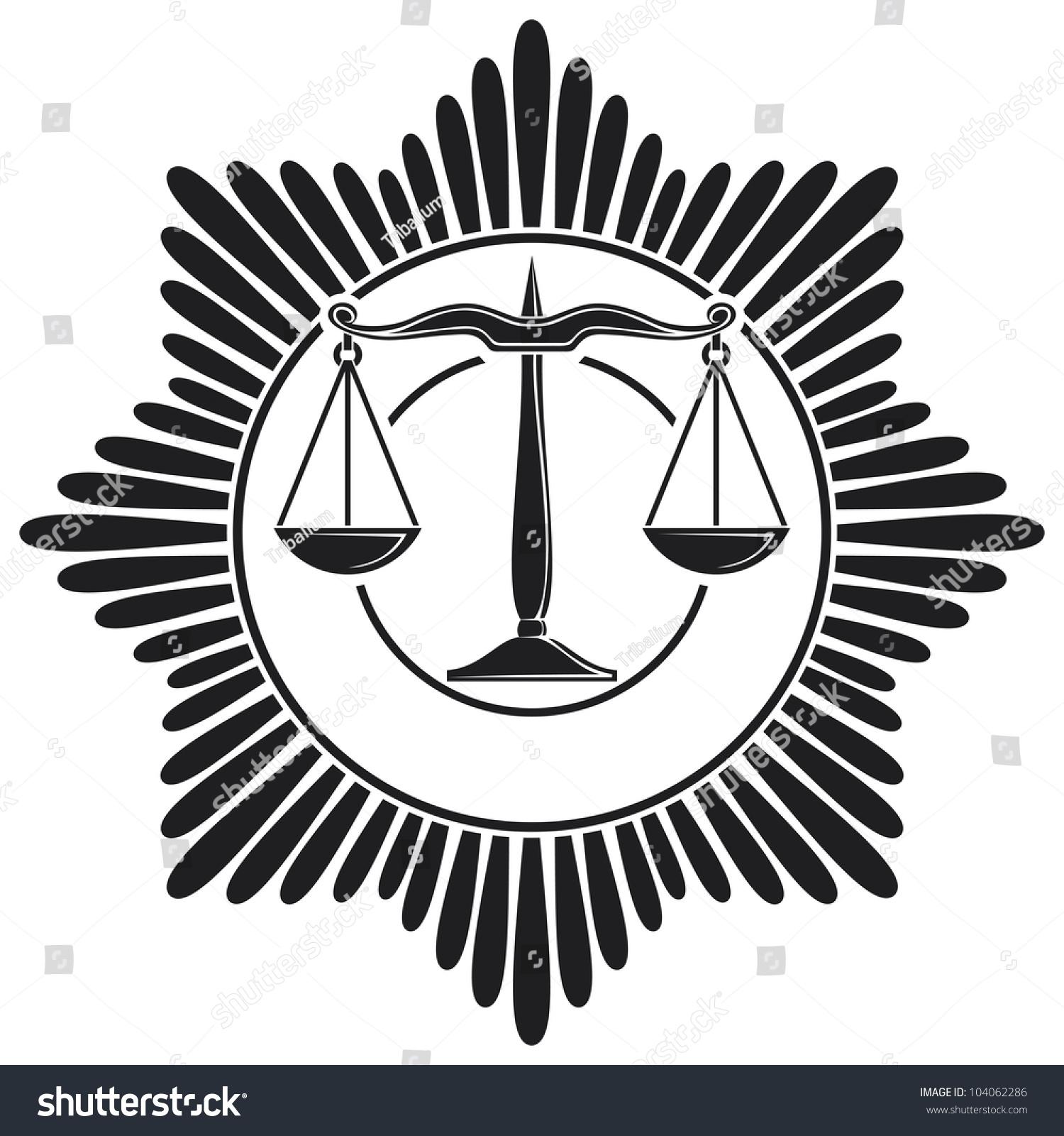 Scales Justice Symbol Stock Illustration 104062286 Shutterstock