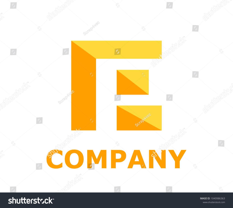 Logo Symbol Type Letter P Logo Stock Vector Royalty Free