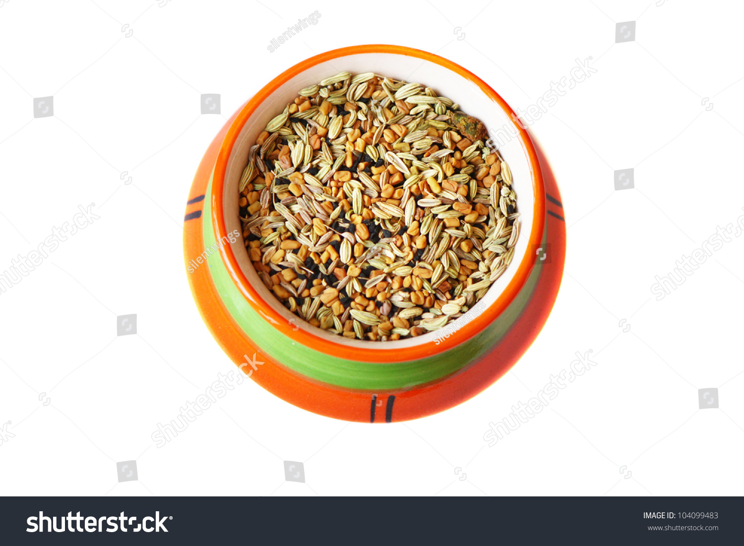 Indian spice pot full of multicolored aromatic spices stock photo 104099483 shutterstock - Aromatic herbs pots multiple benefits ...