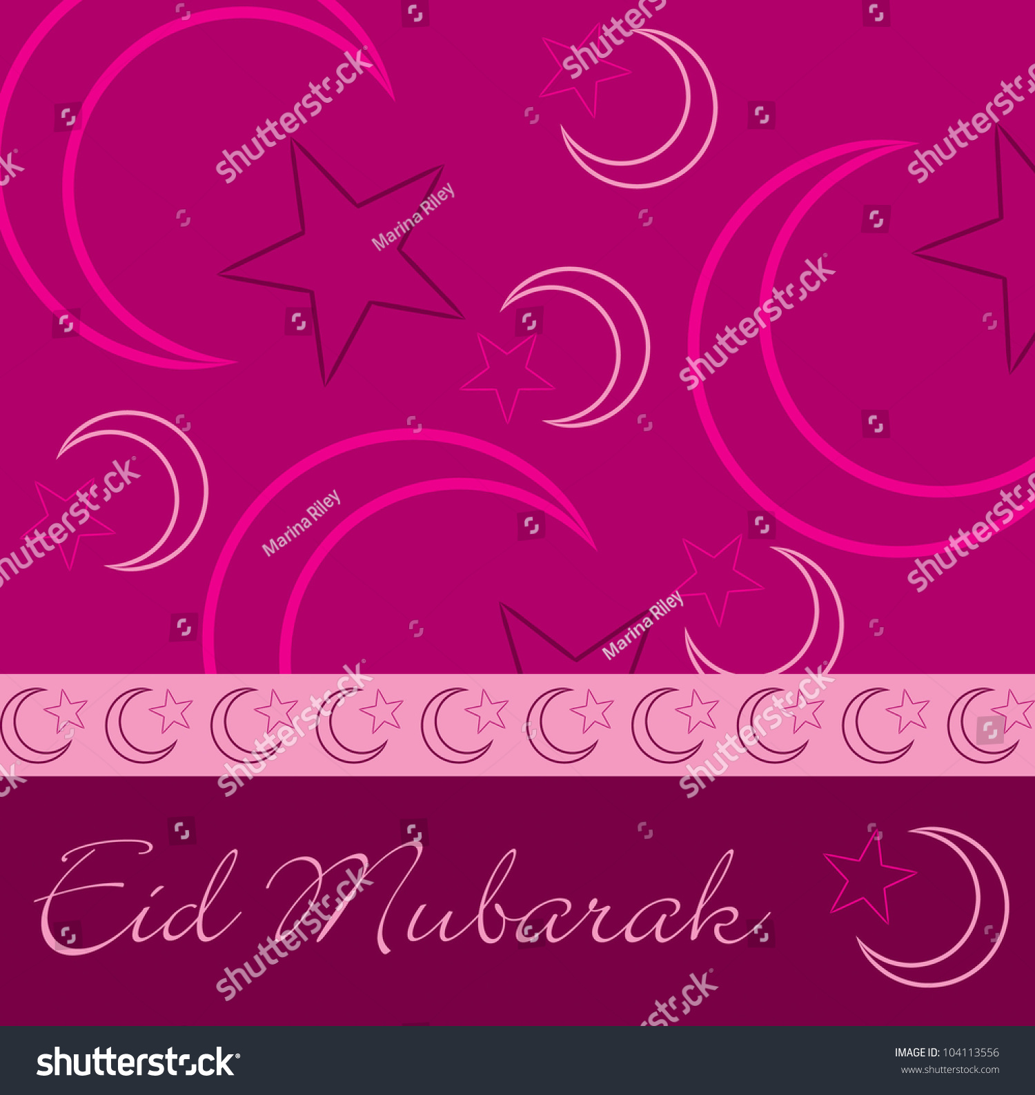 Hand drawn eid mubarak blessed eid stock vector 104113556 hand drawn eid mubarak blessed eid greeting card in vector format kristyandbryce Image collections