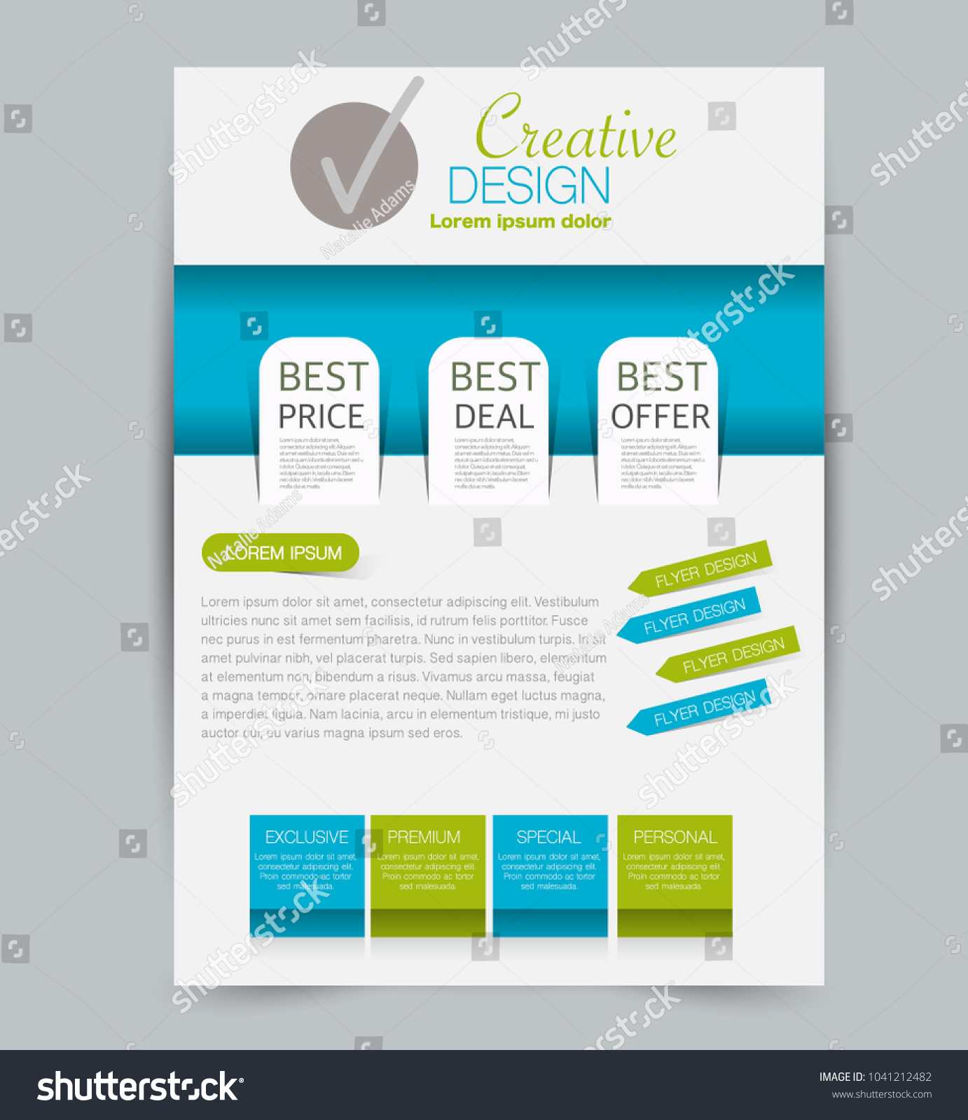 advertising pamphlet template