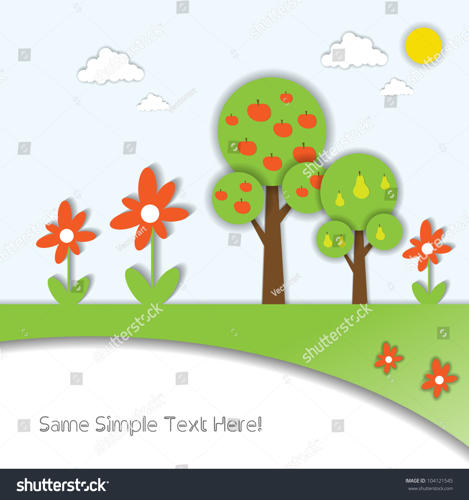 3 D Eco Bio Web Set Art Stock Vector 104121545 - Shutterstock