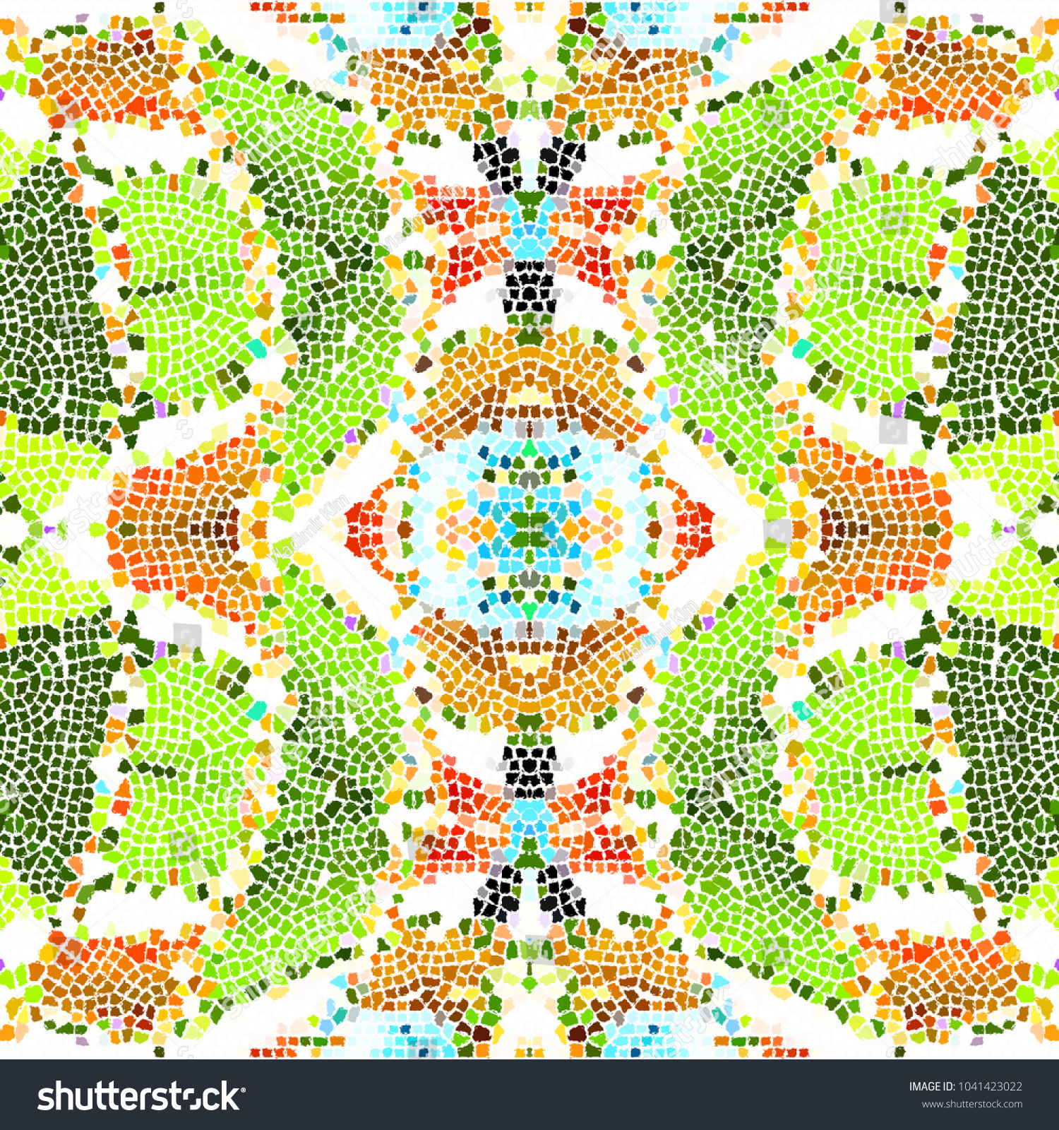 Mosaic Colorful Pattern Wallpapers Design Backgrounds Stock ...