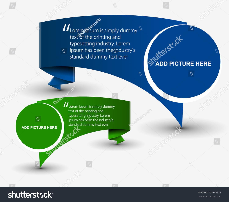 Vector Formation Banner Design Stock Vector 104145623 - Shutterstock