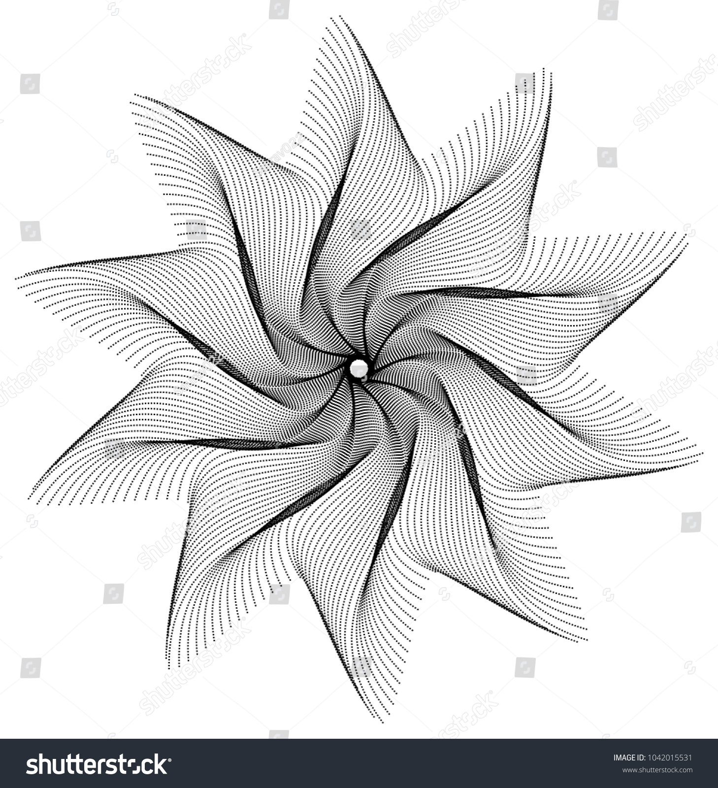 Star Shaped Geometric Wire Frame Stock Vector 1042015531 - Shutterstock