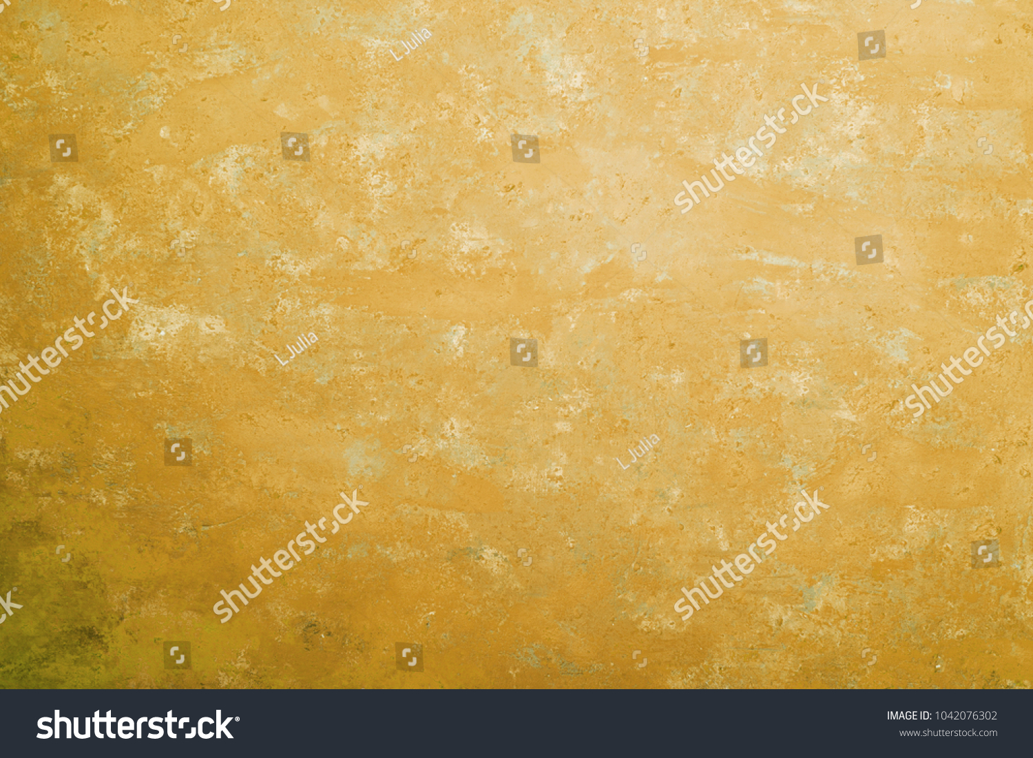 Wall Cement Backgrounds Textures Color Yellow Stock Photo (Edit Now ...