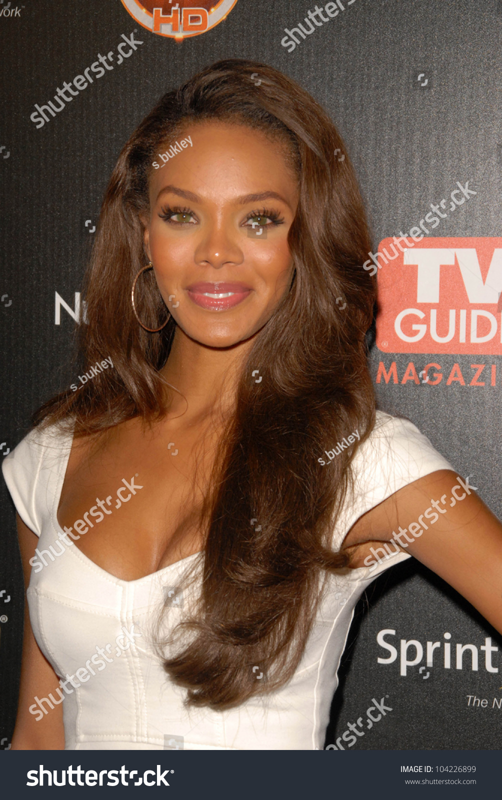 Crystle Stewart TV GUIDE Magazines Hot Stock Photo (Royalty Free ...