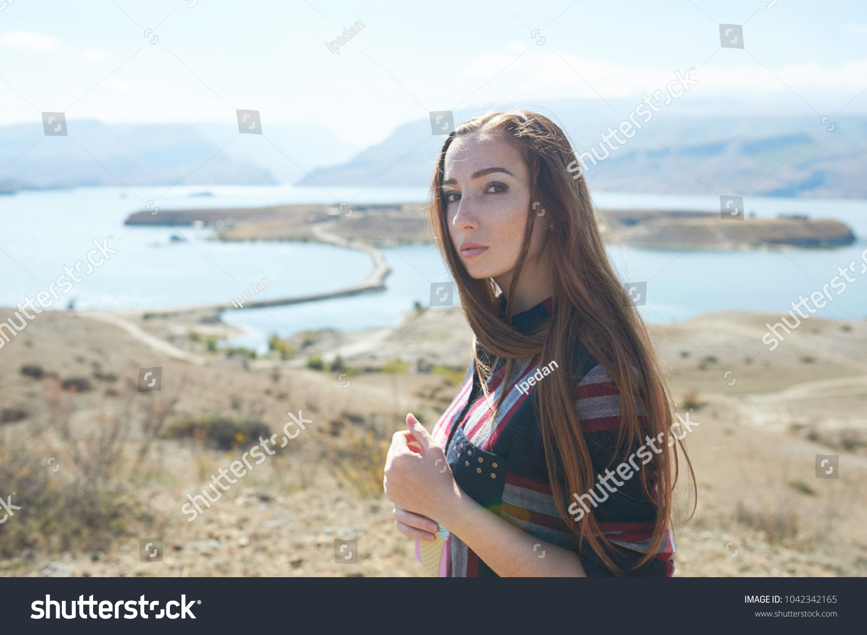 Девушка красавица с дагестан