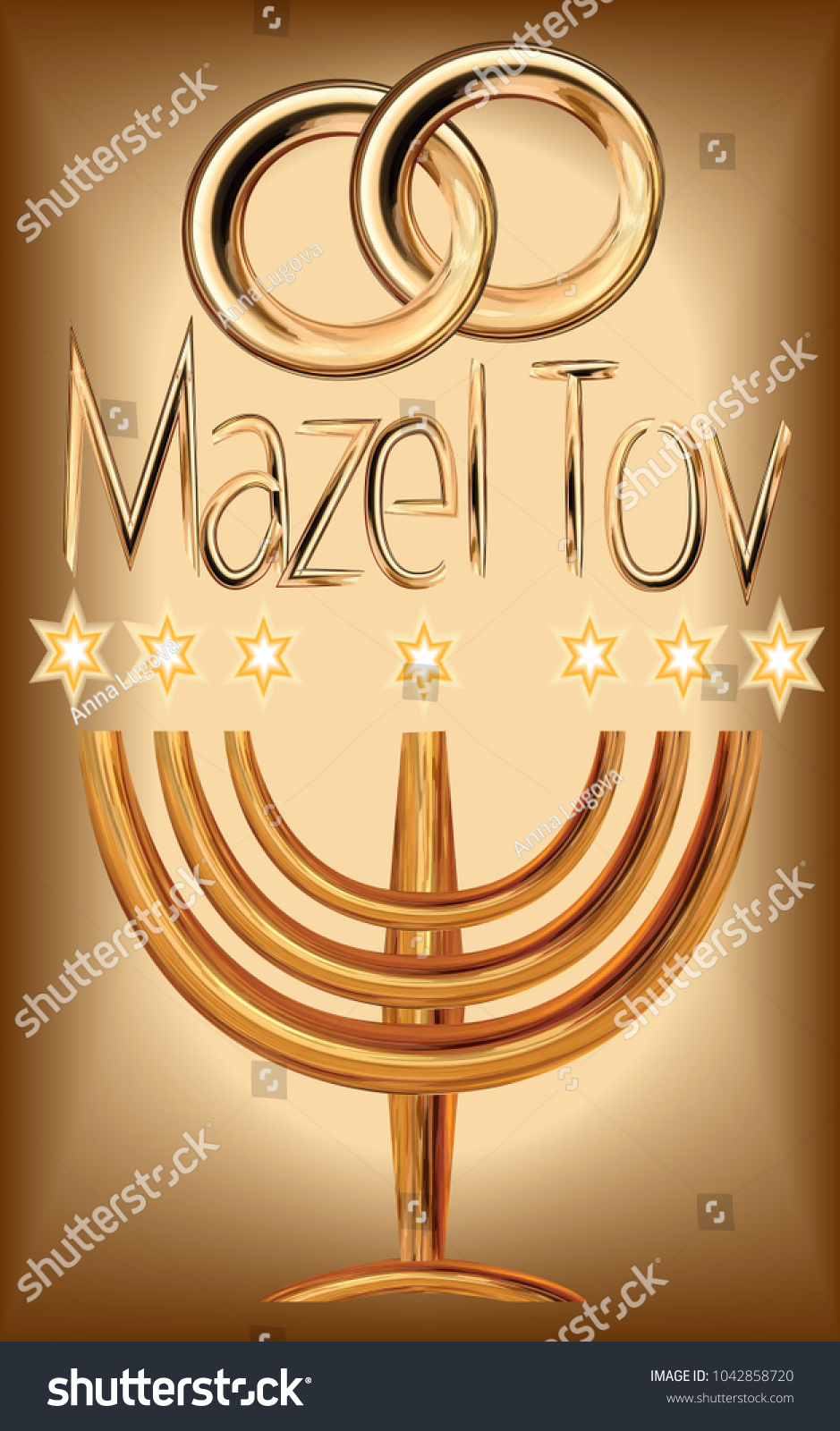 Traditional Jewish Greeting Choice Image Greetings Card Design Simple