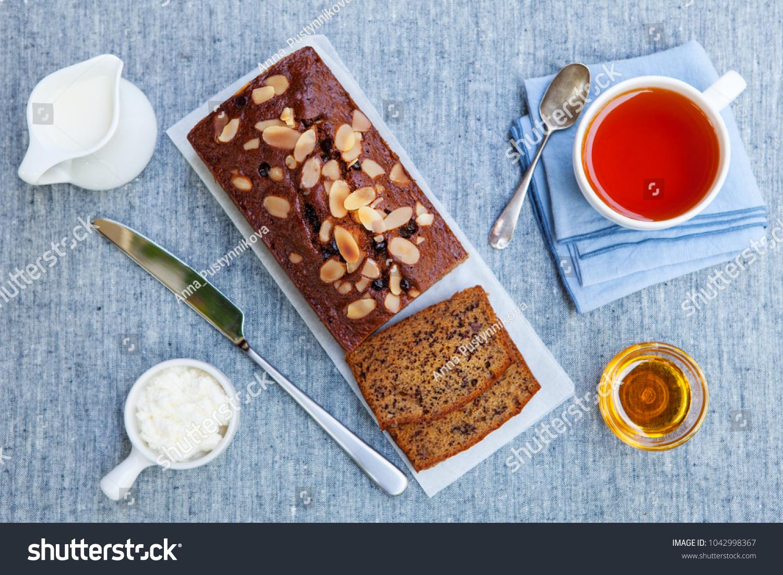 Banana Carrot Apple Cake Loaf Chocolate Stock Photo Edit Now