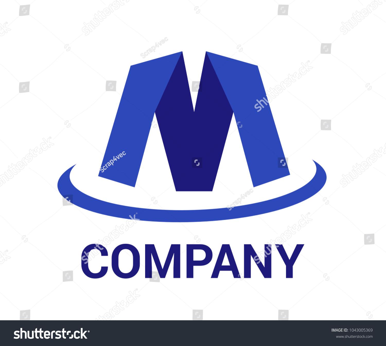 Logo symbol type letter m logo stock vector 1043005369 shutterstock logo symbol type letter m logo design idea illustration like paper shape m with blue color buycottarizona Choice Image