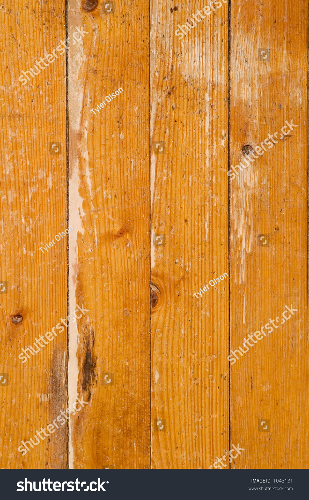 An old worn out hardwood floor texture background image Worn wood floors