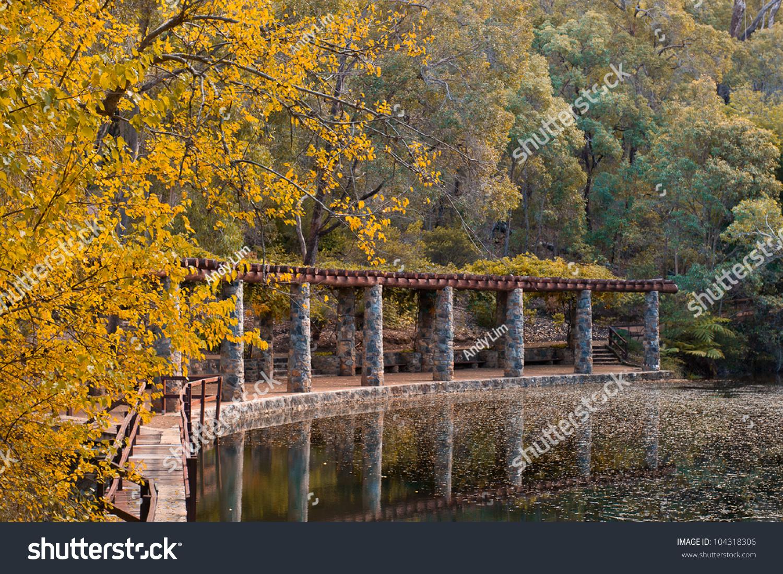 Araluen Botanic Gardens Beautiful Park Near Stock Photo (Edit Now ...