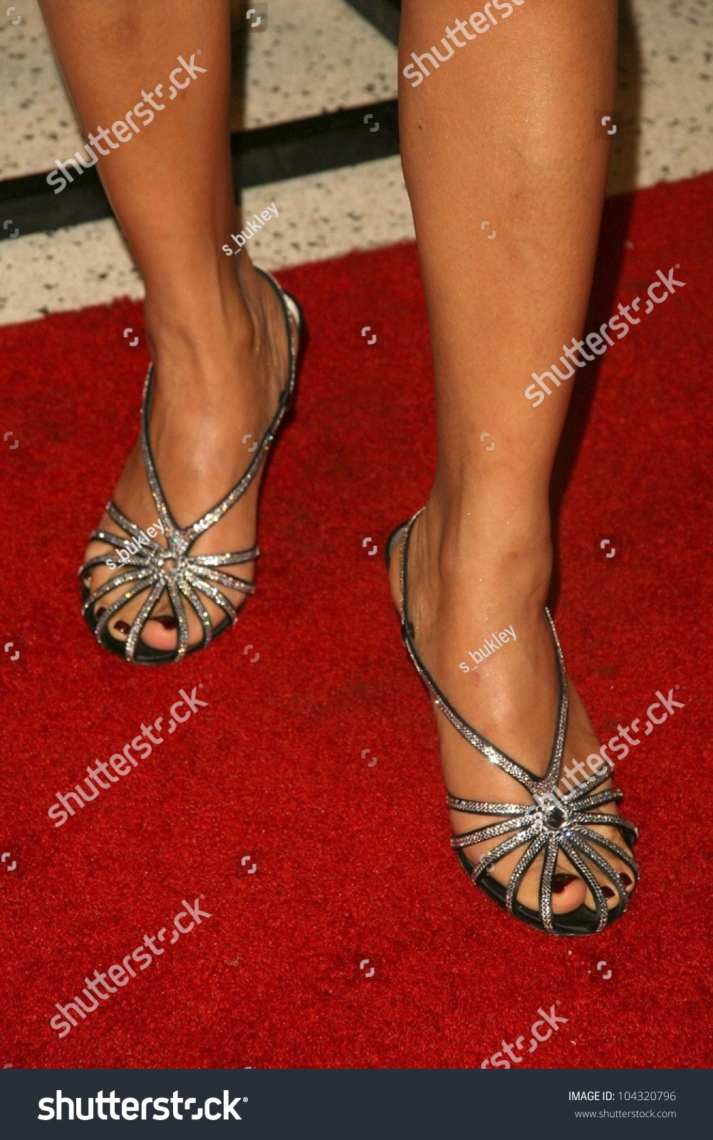 bai ling feet