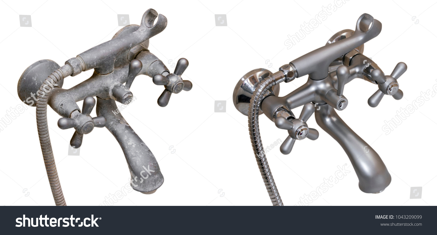 Hard Water Deposit Cleaning Agents Shower Stock Photo (Edit Now ...