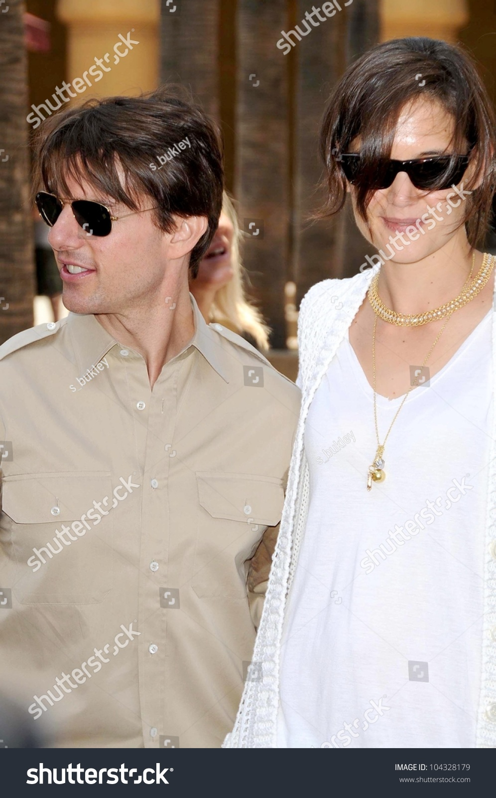 0736f502dc67 Tom Cruise and Katie Holmes at the Ceremony honoring Cameron Diaz ...