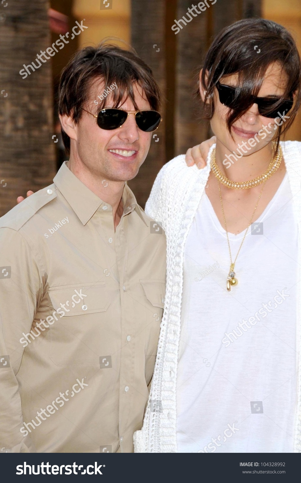 e7a12fecd72b Tom Cruise and Katie Holmes at the Ceremony honoring Cameron Diaz with a  Star on the
