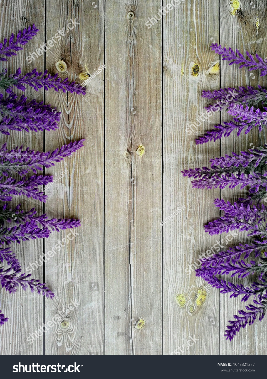 Beautiful lavender flowers on wooden background with copy space in id 1043321377 izmirmasajfo