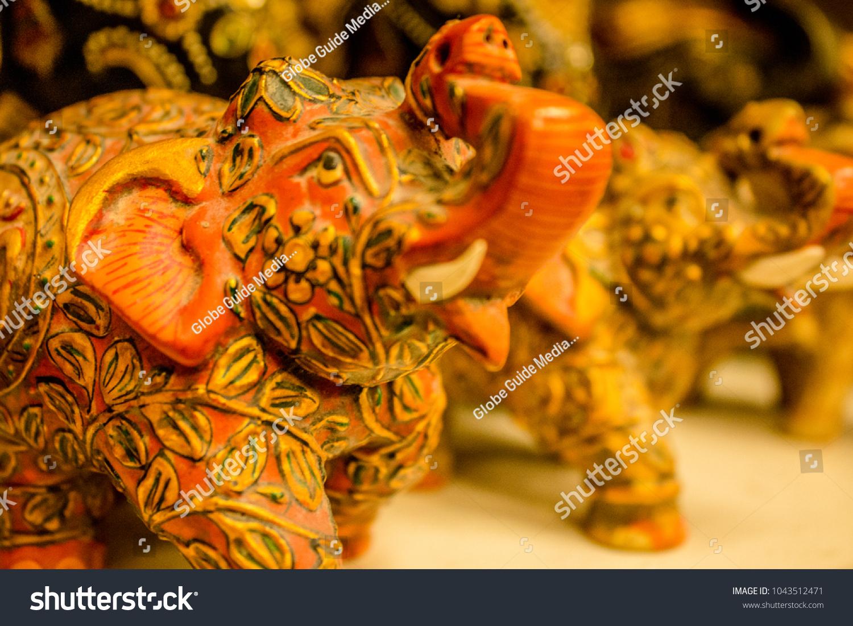 Elephant Handicrafts Udaipur India Stock Photo Edit Now 1043512471