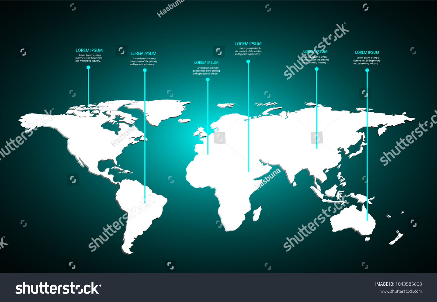 World map infographic template colorful origami vectores en stock world map infographic template colorful origami vectores en stock 1043585668 shutterstock gumiabroncs Choice Image