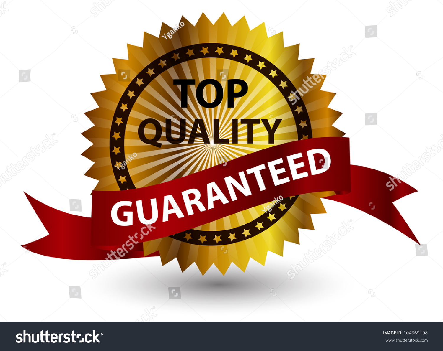Top Quality Label. Stock Photo 104369198 : Shutterstock