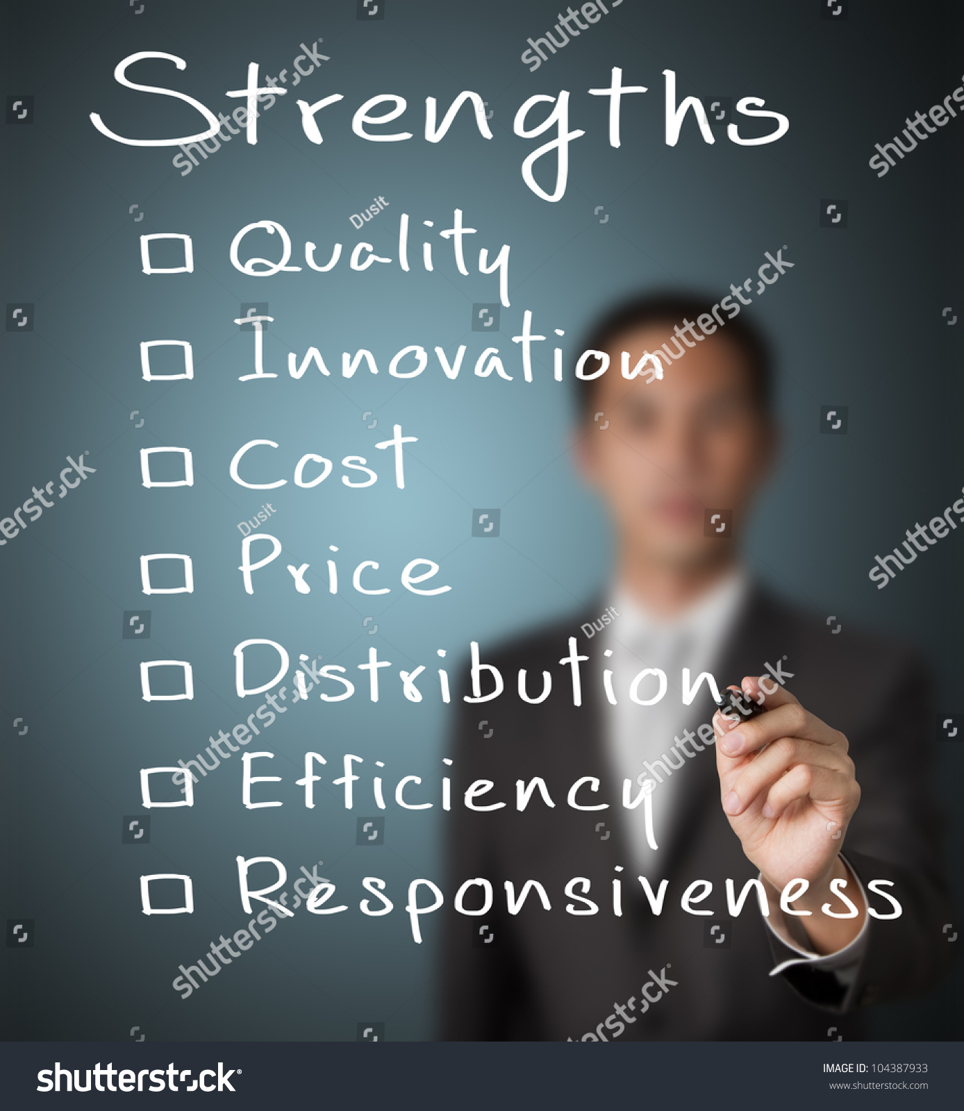 list of business strengths
